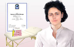 Professional certified european massage therapist